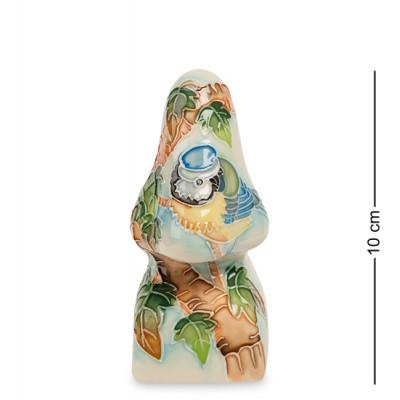 """Подставка для очков """"Синяя птица"""" 4,5x4,5x10 см., фарфор Pavone, Италия"""