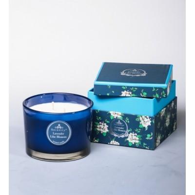 """Ароматическая свеча """"Лаванда и сирень"""" Serenity Candles, Австралия"""