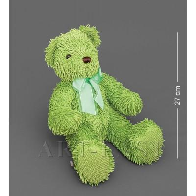 Мягкая игрушка медведь с бантиком - зеленый 40см ., Color Rich