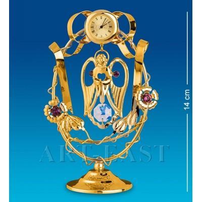 "Статуэтка-часы ""Ангел"" 8,5x6x14 см., Crystal Temptations, США"
