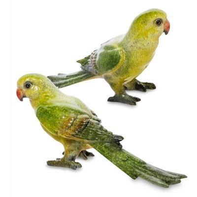 "Комплект фигурок 2 шт. ""Попугаи"", 18,5 см., MN- 09"