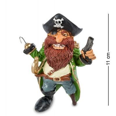 "Фигурка Пират ""Джеймс Крюк"" 9x7x11 см., полистоун Warren Stratford Канада"