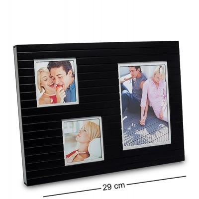 Фоторамка на 3 фото 9х9 и 10х15 см.