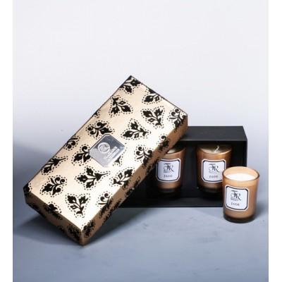 """Набор из 3 свечей аром. """"Jade Gold"""" Serenity Candles, Австралия"""