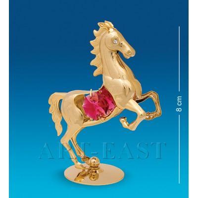 "Фигурка ""Лошадь"" с цв.кр., 6,5x3,5x8,5 см., Crystal Temptations, США"
