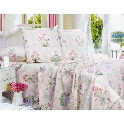 Комплект постельного белья Полуторный, Бязь-100% хлопок (1.5-сп.ЕТ0640)