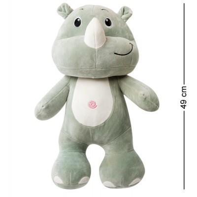 Мягкая игрушка Носорог, 49 см., PT-12