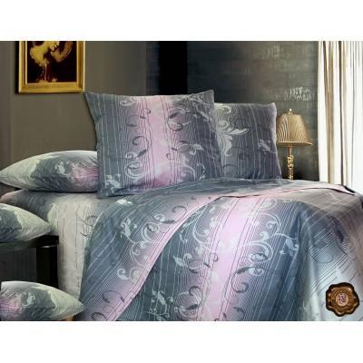 Комплект постельного белья Евро, Бязь-100% хлопок (ЕТ0352)