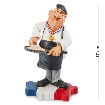 """Статуэтка """"Шеф-повар Франция"""" 11x10x17 см., полистоун Warren Stratford Канада"""