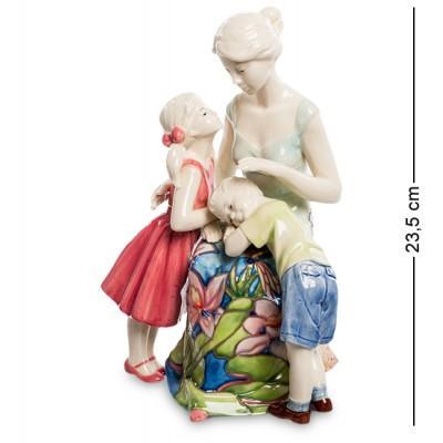 "Статуэтка ""Мамина любовь"" 17x12,5x23,5 см., фарфор Pavone, Италия"