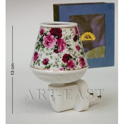 "Светильник ""Тюльпан"" 8.5х7.5х12 см., фарфор Pavone, Италия"